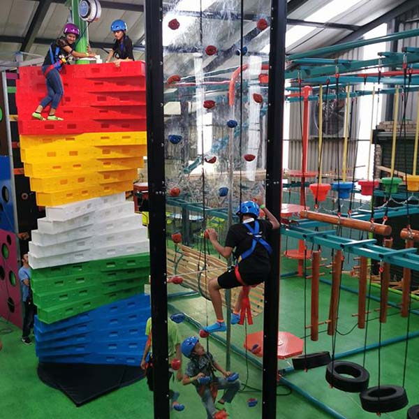 Rope Course and Climbing Walls